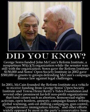 McCain Plotter in Presidential Coup